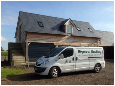 Wyvern Roofing, Flat, slate and tile roofing specialists, Leominster, Herefordshire,