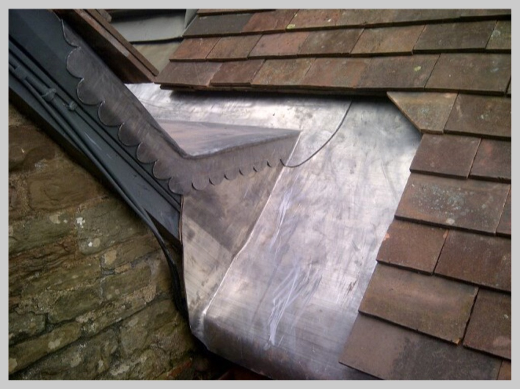 leadwork by Wyvern Roofing, Leominster, Herefordshire