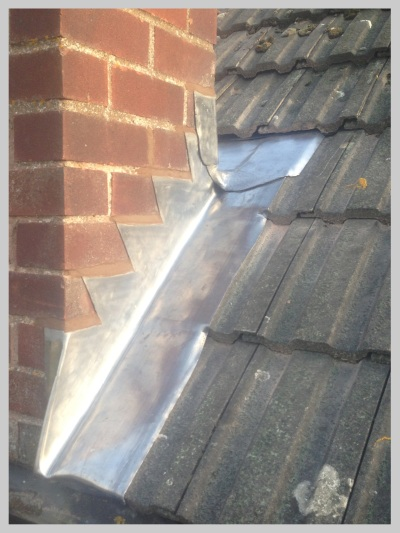 Leadwork to chimney, Shropshire by Wyvern Roofing