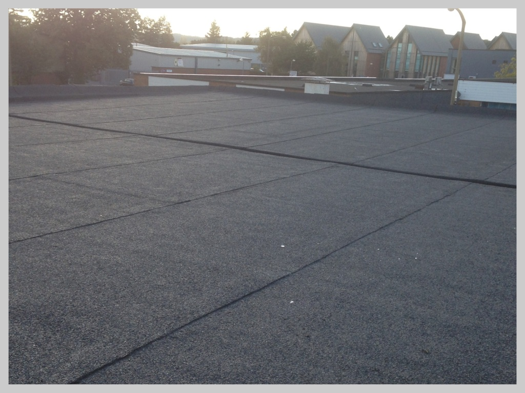 Flat roof installation for  commercial property in the West Midlands