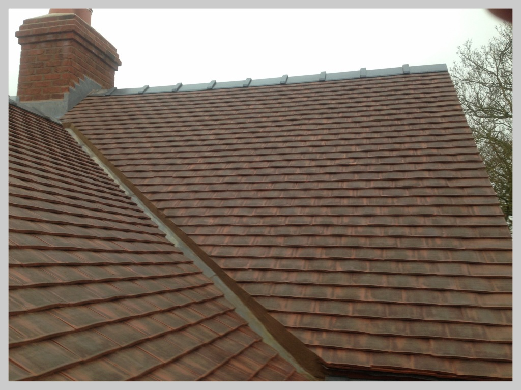 Tiled roof Shropshire